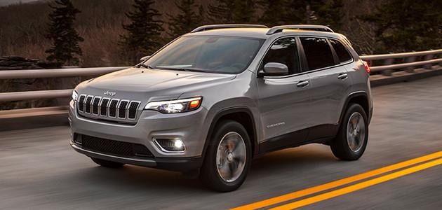 New 2019 Jeep Cherokee Mid-Size SUV