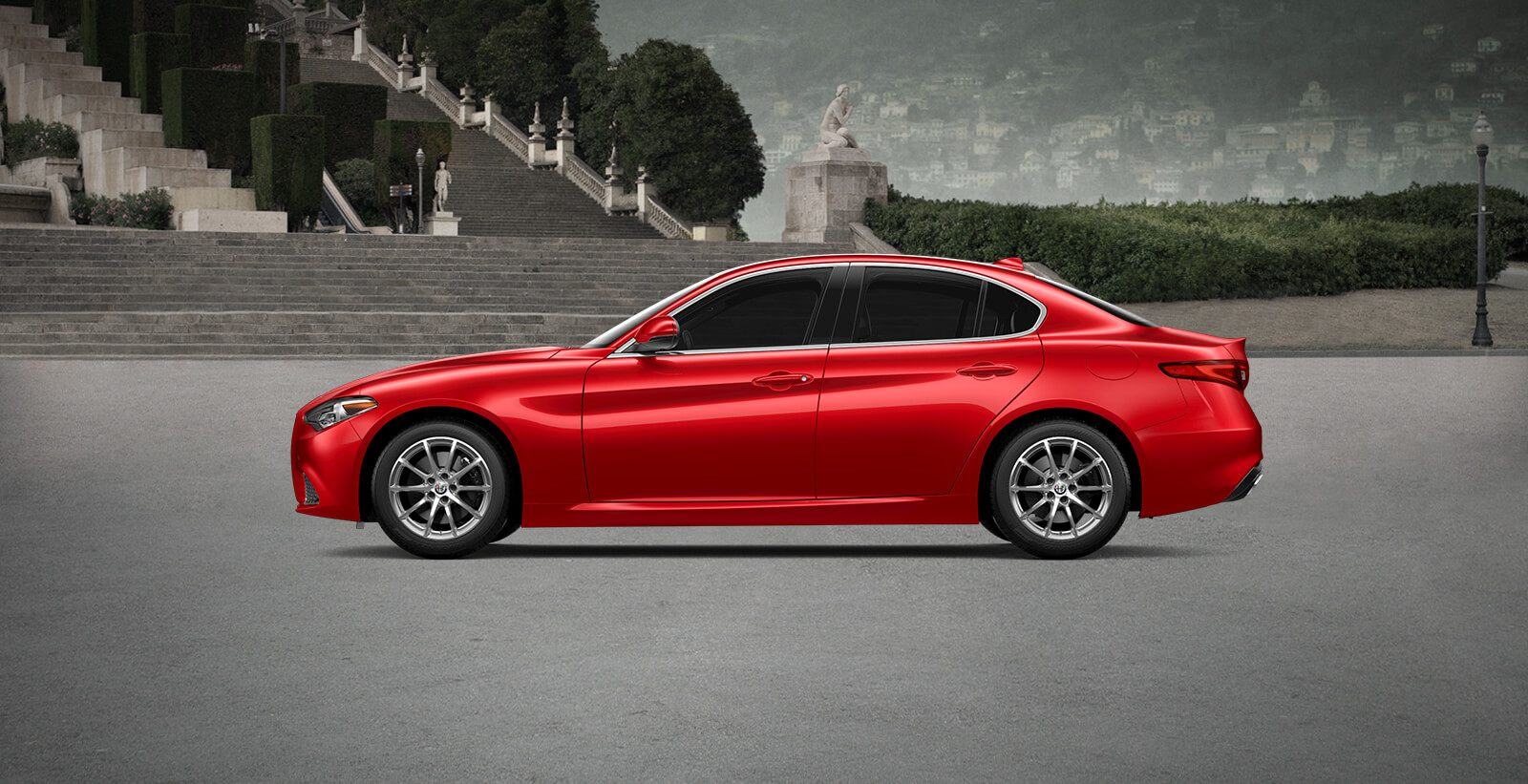 2018 Alfa Romeo Giulia Side View
