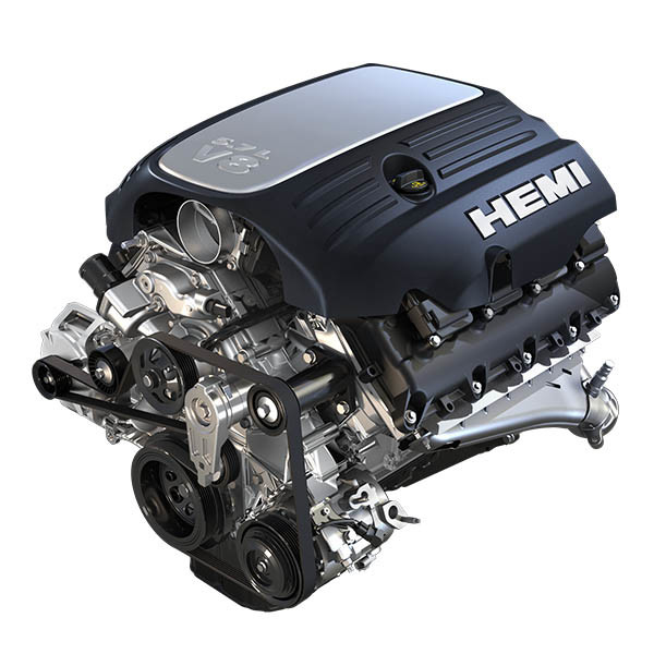 V8 HEMI<sup>MD</sup> de 5,7 L à distribution variable des soupapes