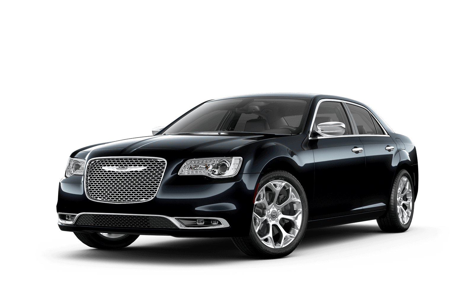 2019 Chrysler 300 Full View in Black with Wheels