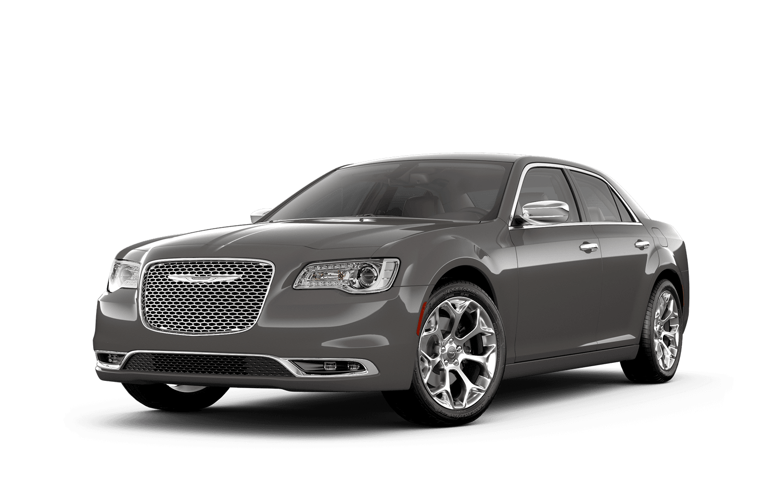 2019 Chrysler 300 Full View in Grey with Wheels