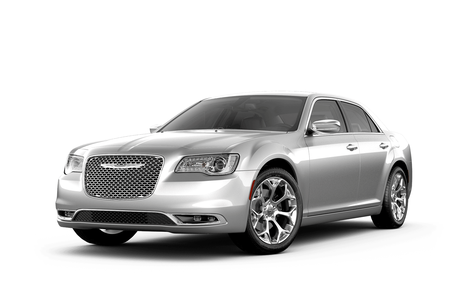 2019 Chrysler 300 Full View in Silver with Wheels