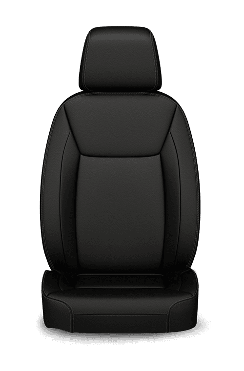 2019 Chrysler 300 Nappa Leather-faced black seats