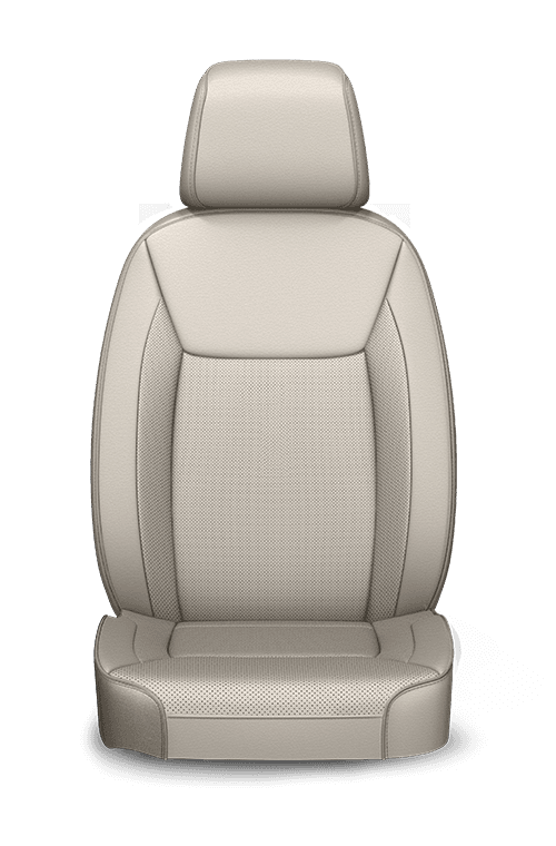 2019 Chrysler 300 Nappa Leather-faced linen seats with perforated inserts
