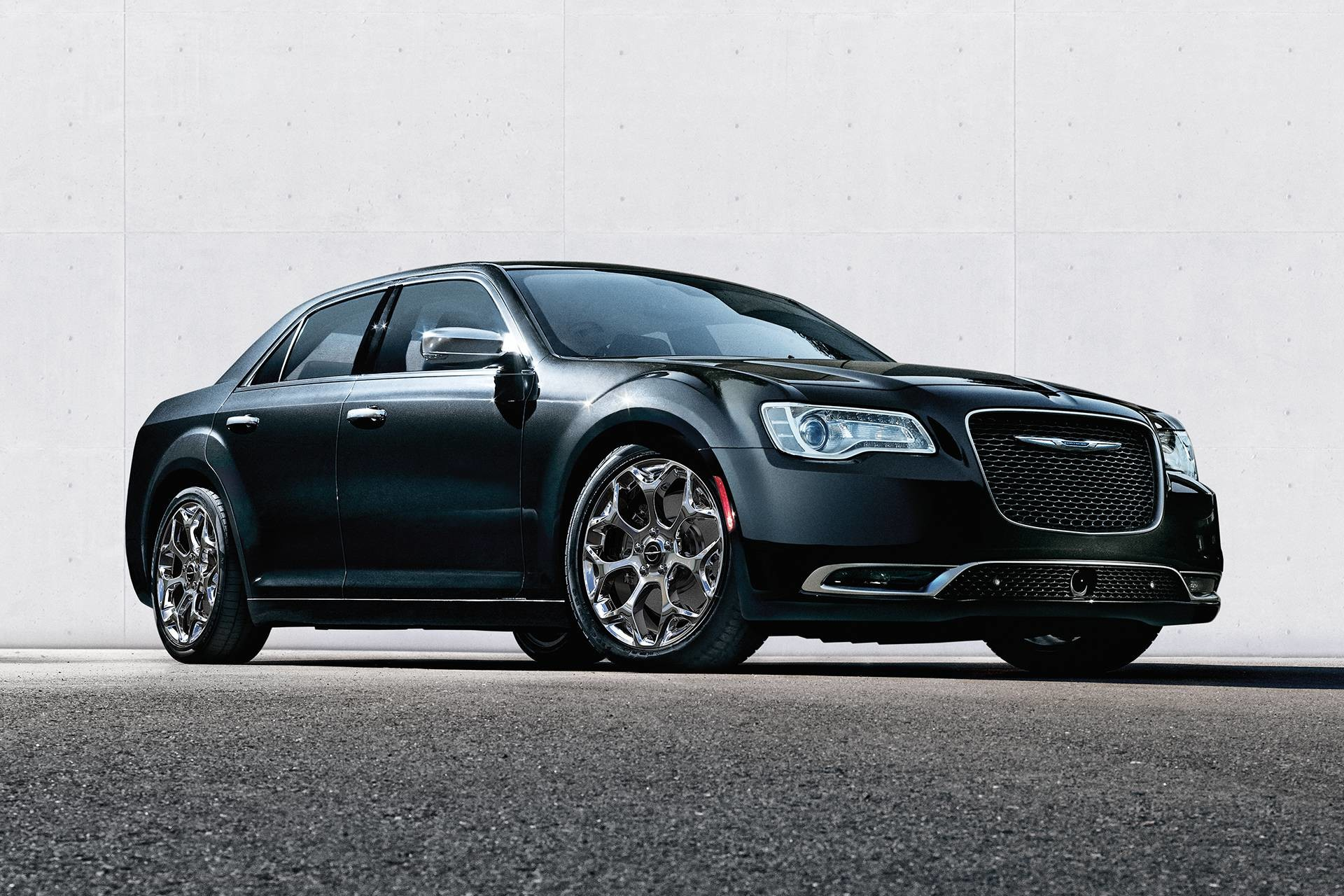 2019 Chrysler 300 with chrome accents