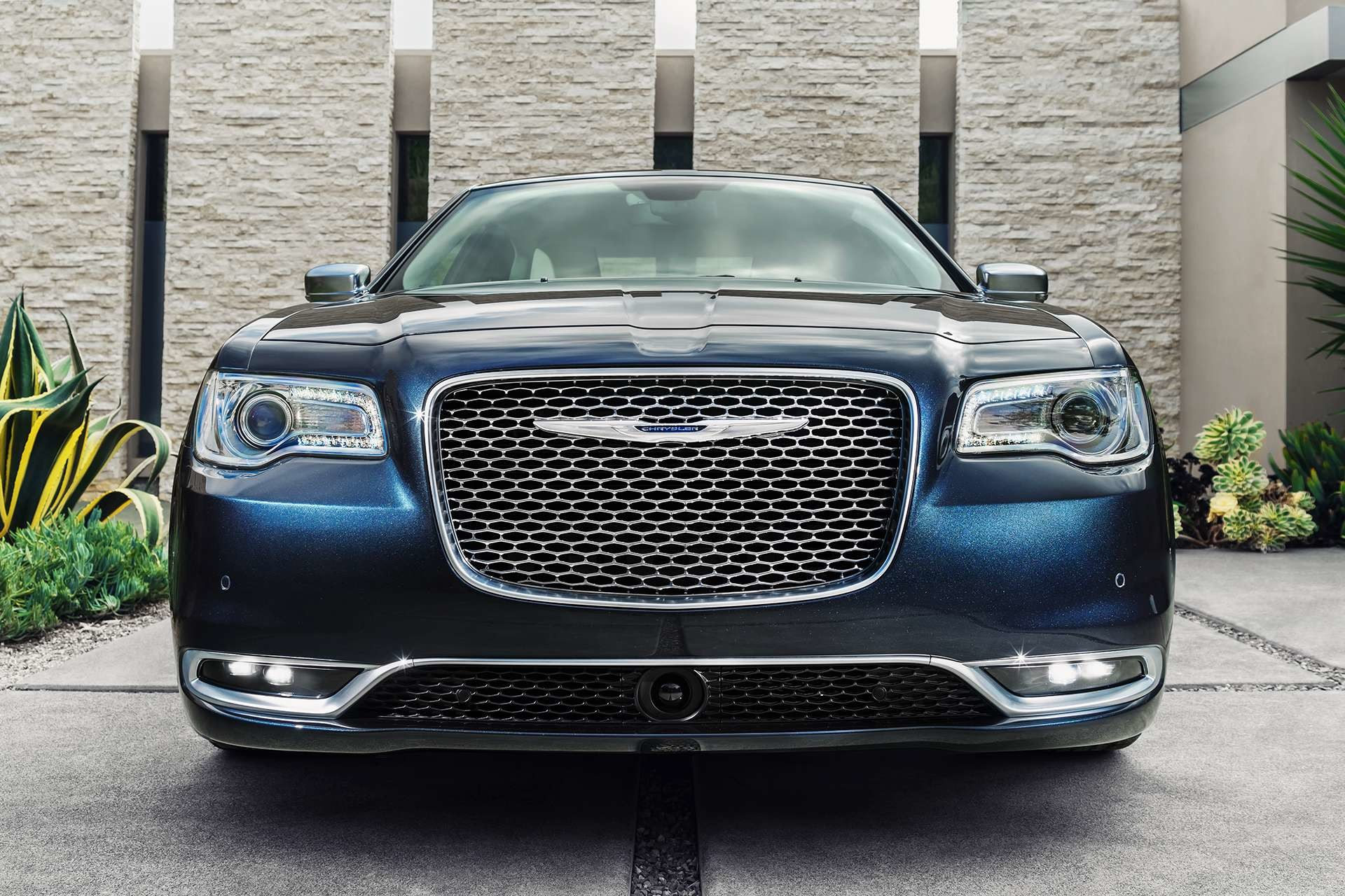 2019 Chrysler 300 with LED fog lamps