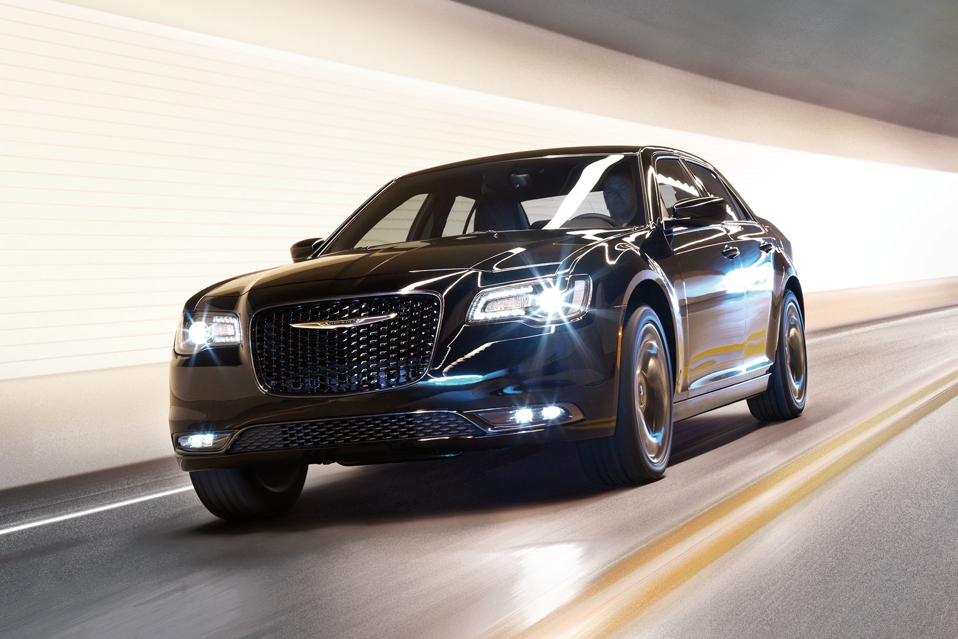 2019 Chrysler 300 with adaptive headlamps