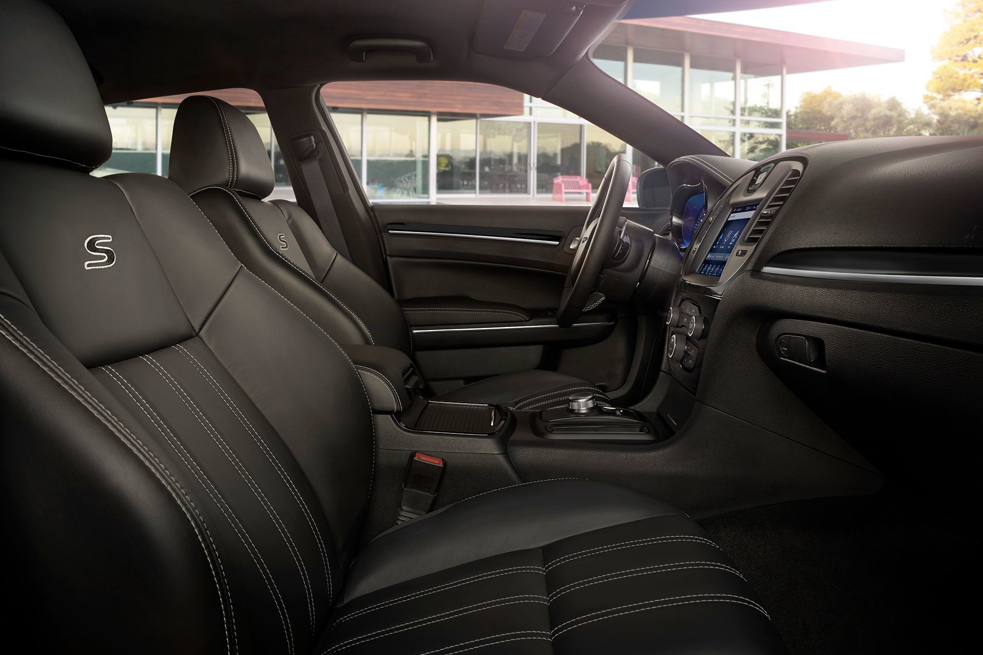 2019 Chrysler 300 with leather-faced performance seats