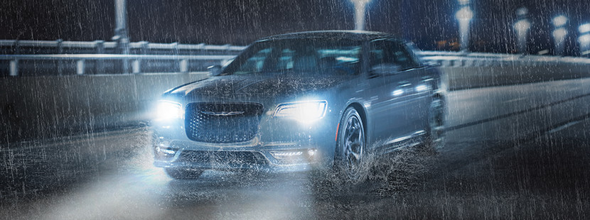 2019 Chrysler 300 with all-wheel drive system
