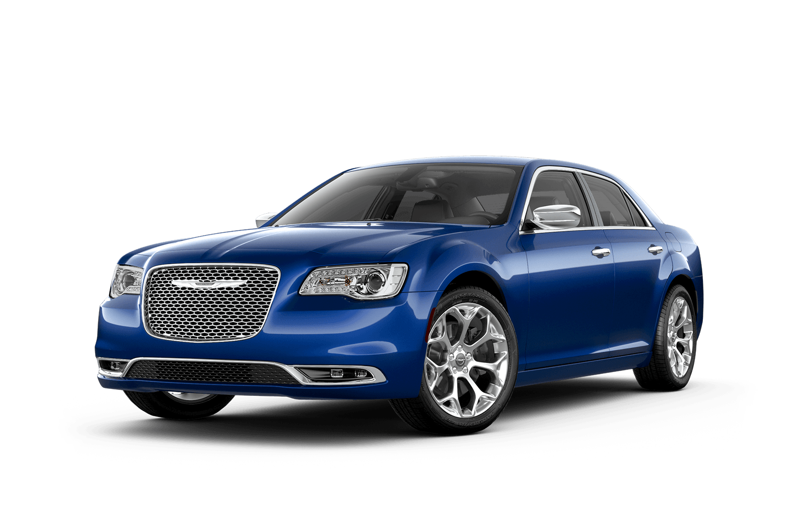 2019 Chrysler 300 Full View in Ocean Blue with Wheels
