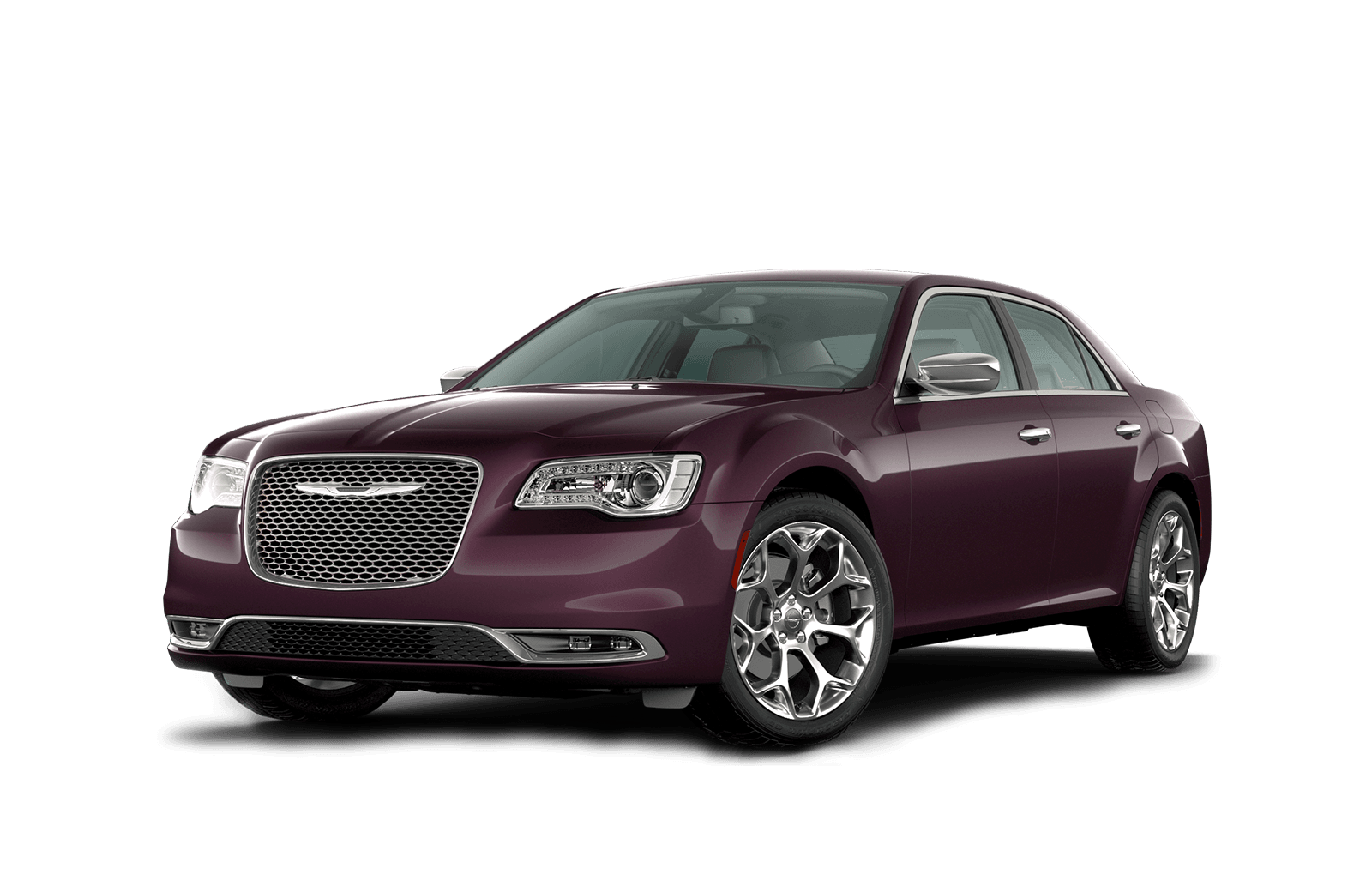 2020 Chrysler 300 Full View in Amethyst with Wheels
