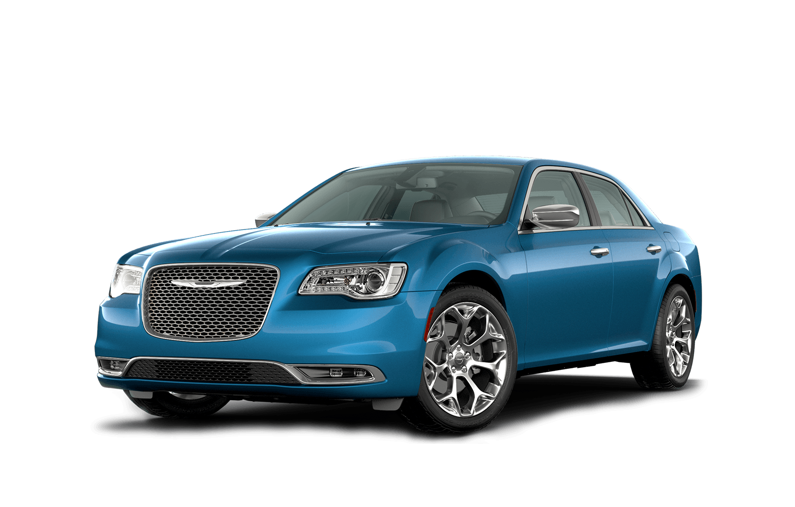 2020 Chrysler 300 Full View in blue with Wheels