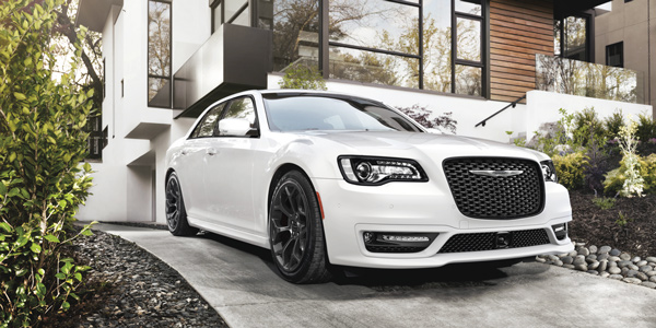 White 2020 Chrysler 300 parked on the driveway