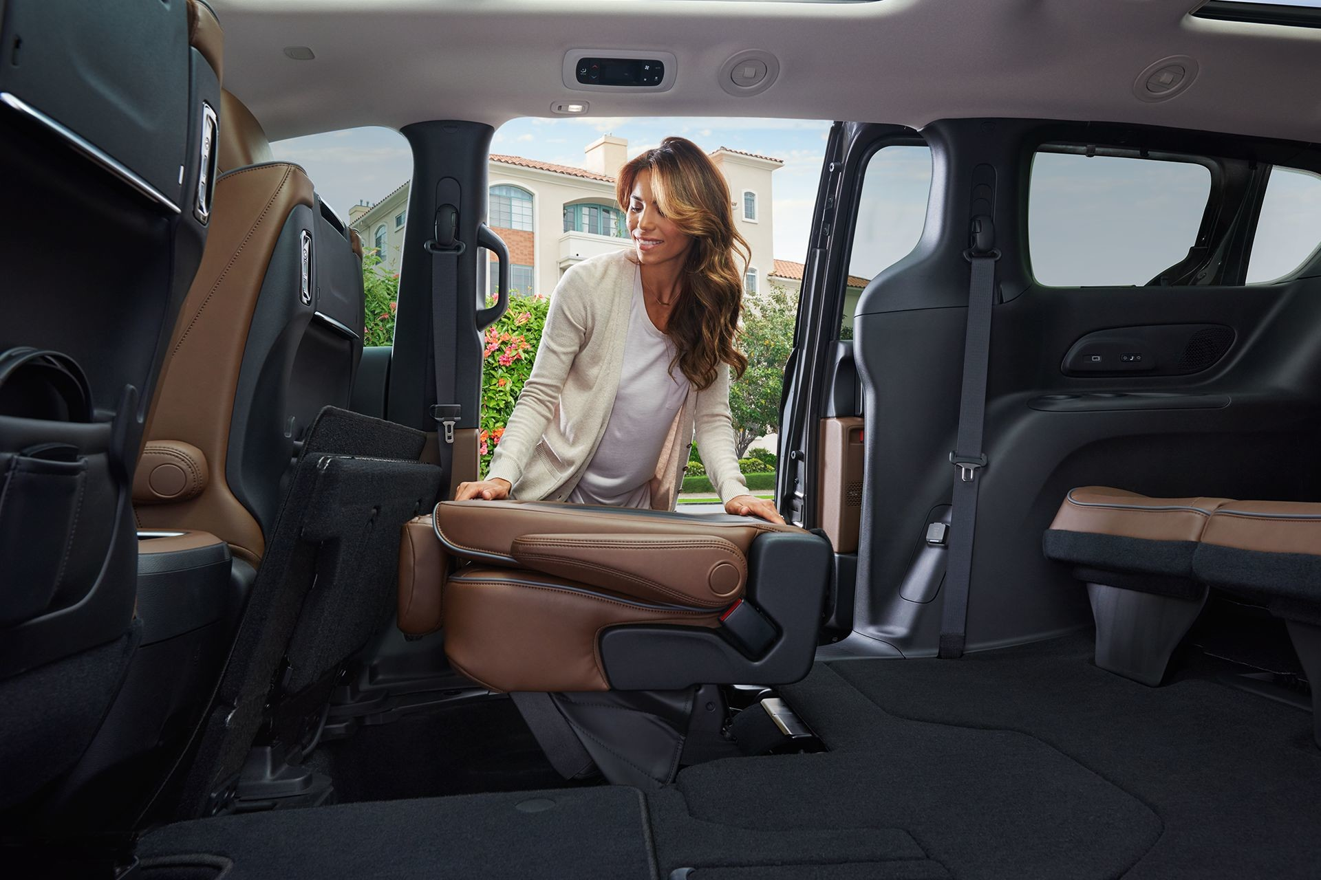 2018 Chrysler Pacifica Interior Seating Folding Seats