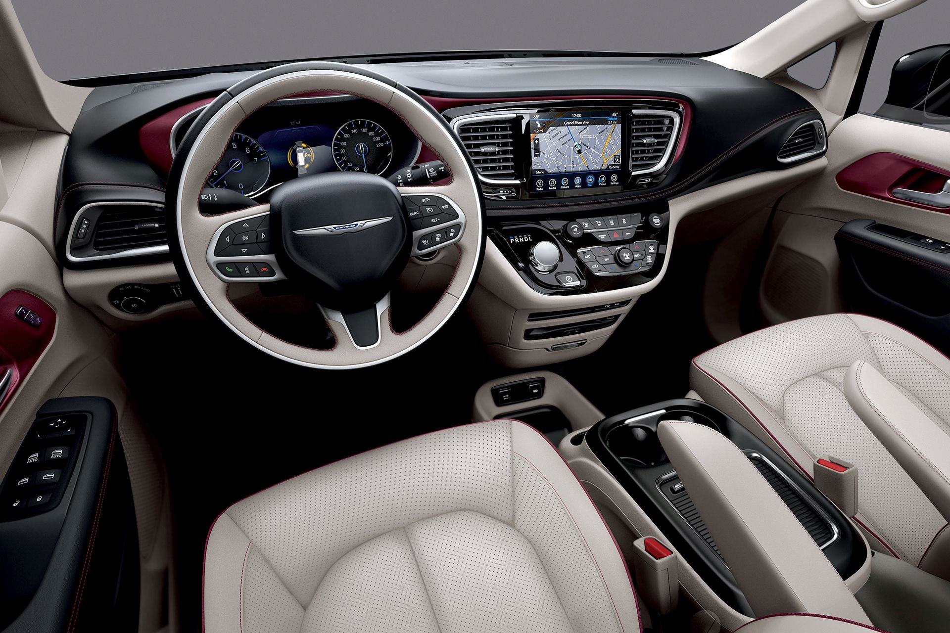 2018 Chrysler Pacifica Interior Front Dashboard