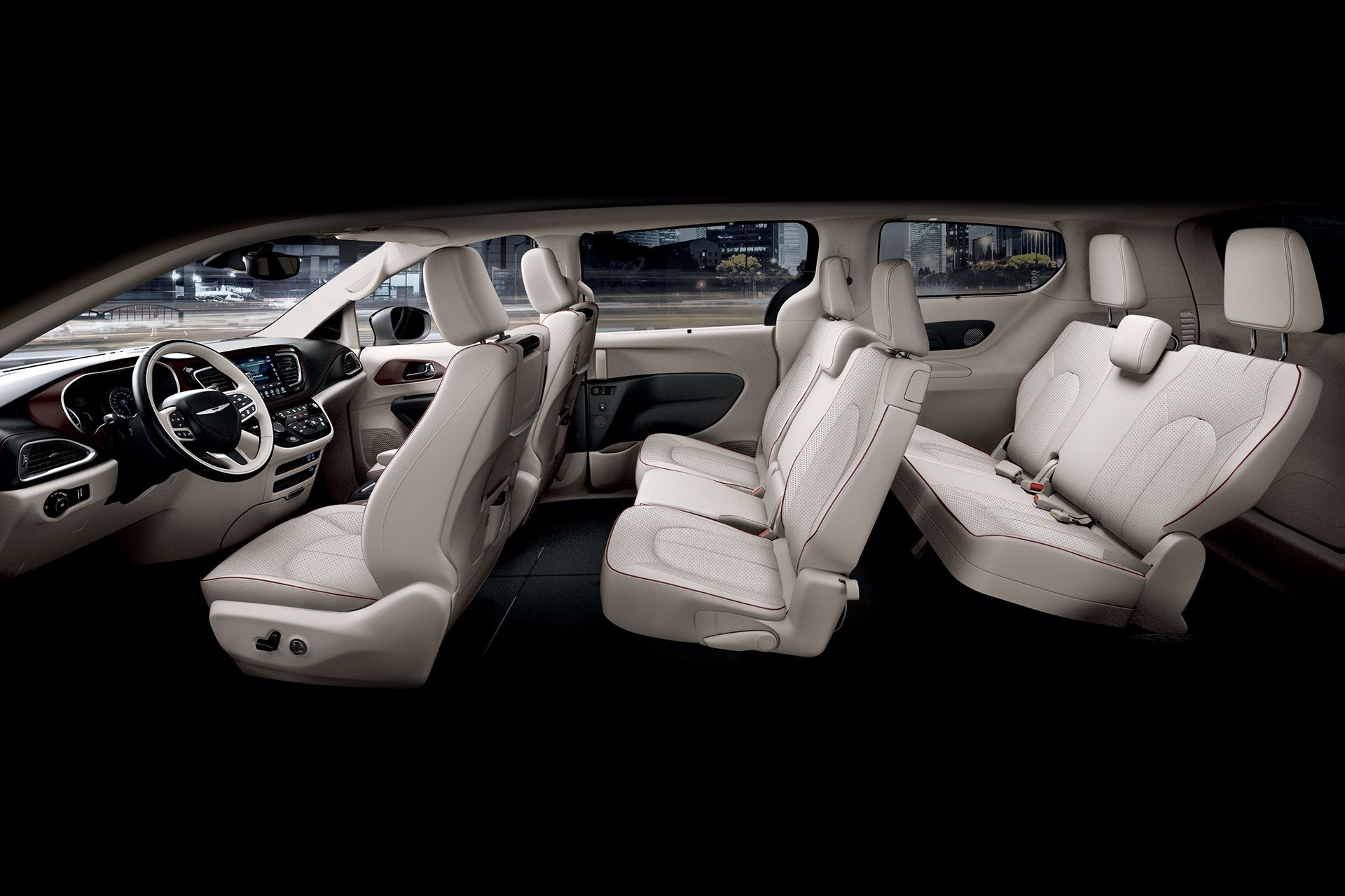 2018 Chrysler Pacifica Interior Side Seating Seat Configuration