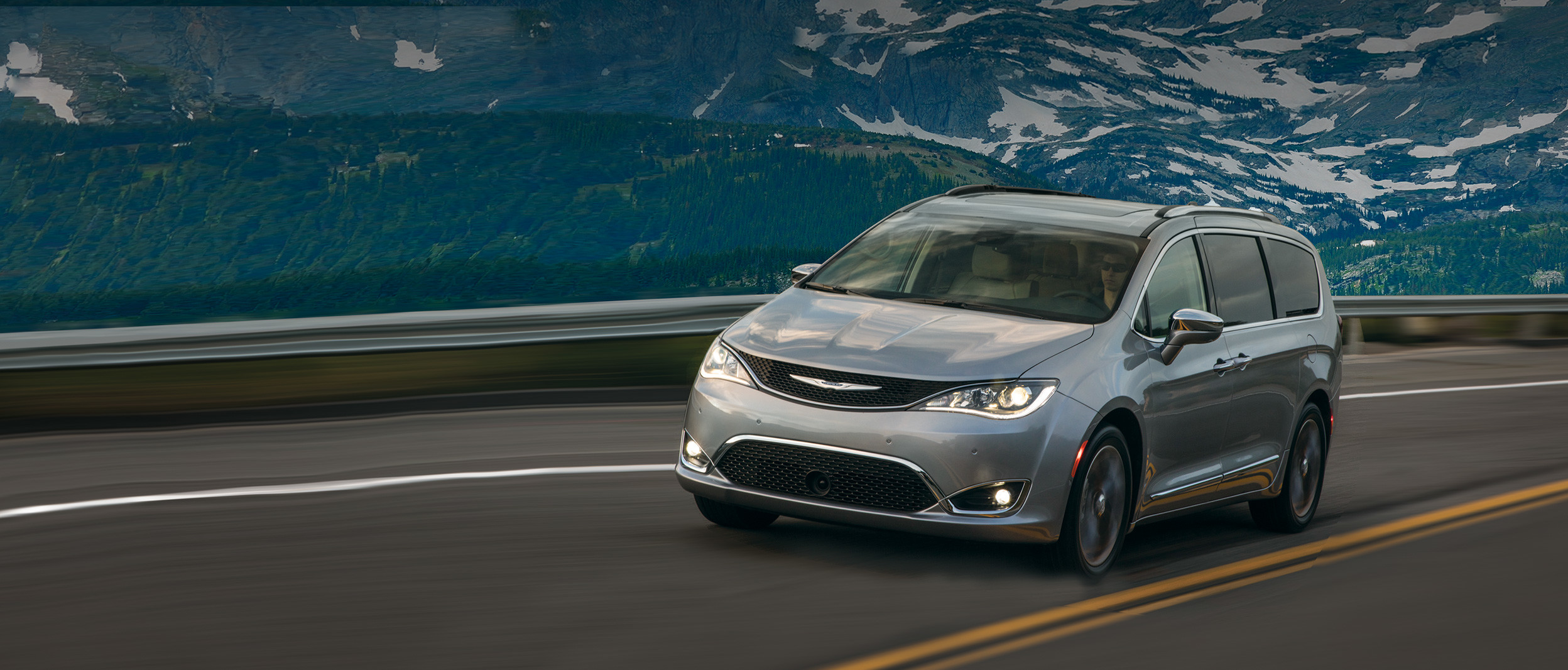 Chrysler Pacifica 2018 Exterior Billet Metallic