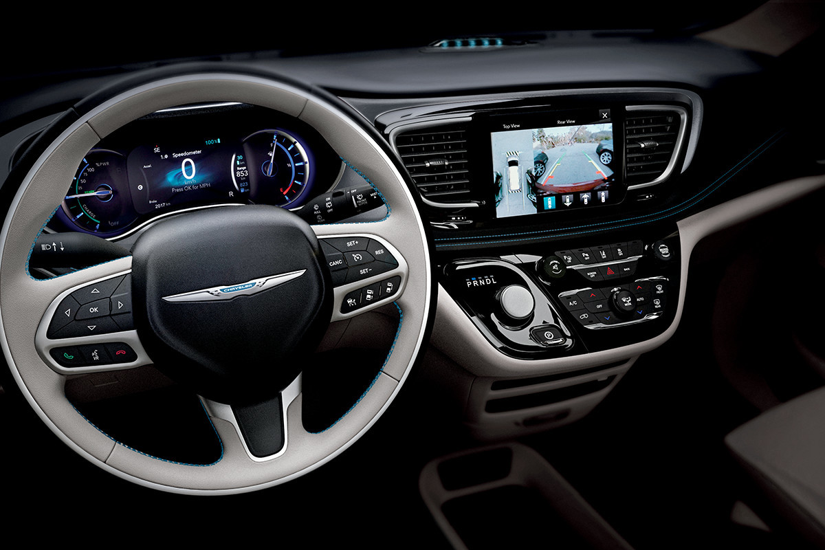 Chrysler Pacifica Hybrid 2018 Safety 360° Surround-View Camera