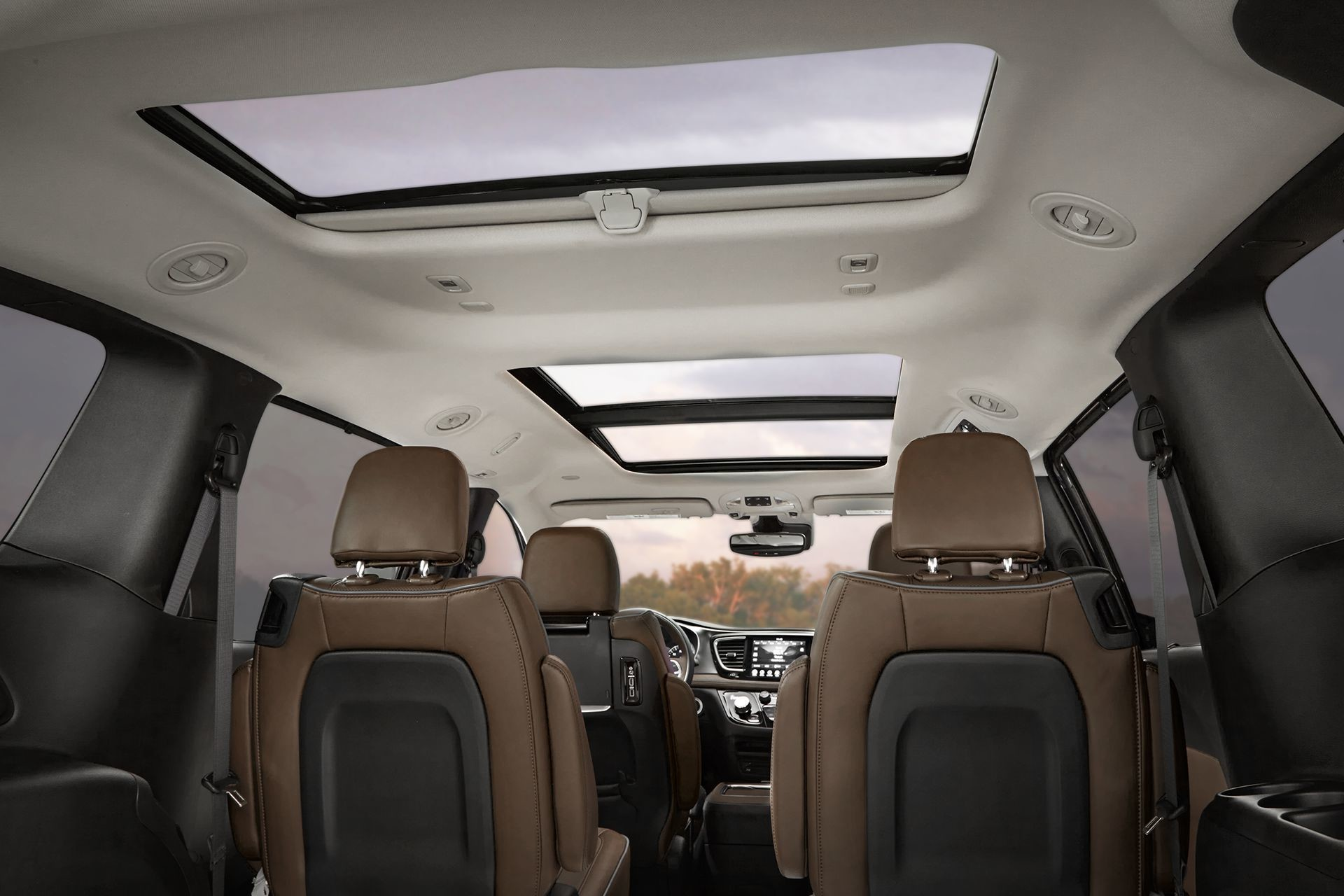 Chrysler Pacifica Hybrid 2018 Interior Seat Seating Sunroof
