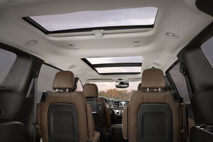 2018 chrysler pacifica hybrid. beautiful chrysler chrysler pacifica hybrid 2018 interior seat seating sunroof on chrysler pacifica hybrid