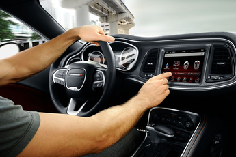 2018 dodge uconnect. perfect 2018 2018 dodge challenger features uconnect multimedia centres throughout dodge uconnect 2