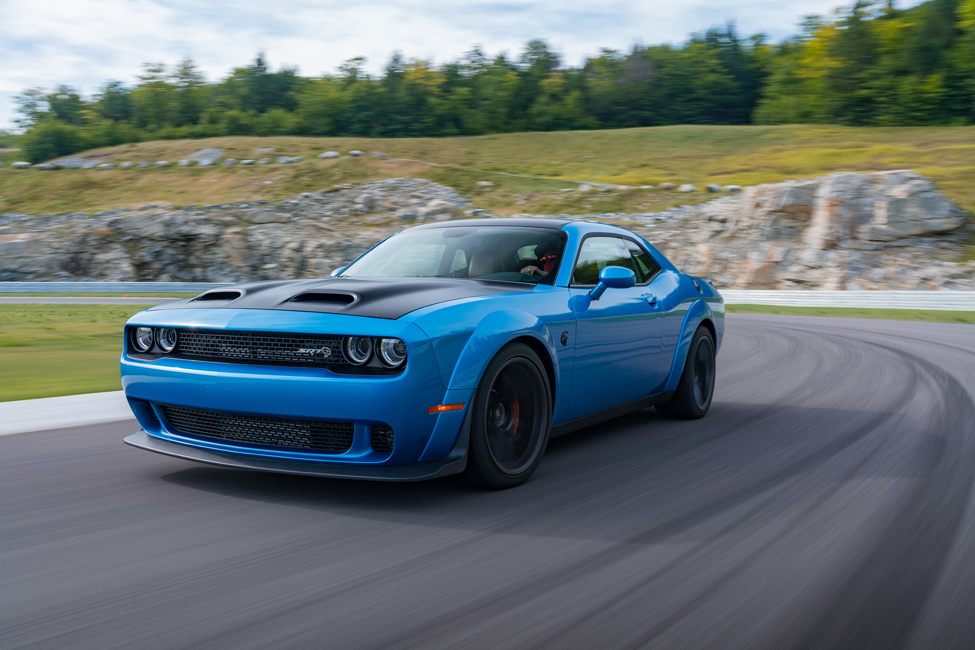 2019 Dodge Challenger SRT® Hellcat Redeye in driving