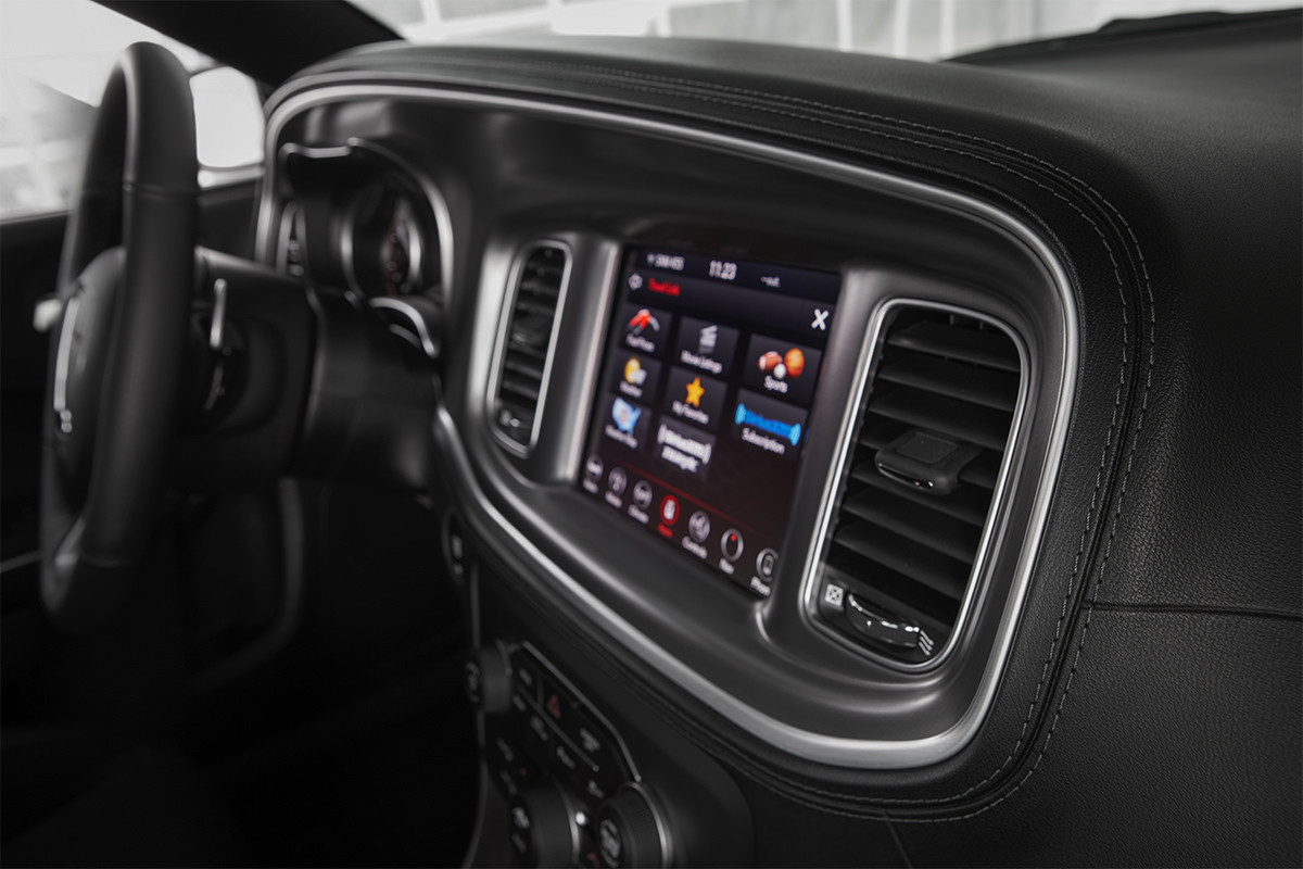 2019 Dodge Charger premium leather seating