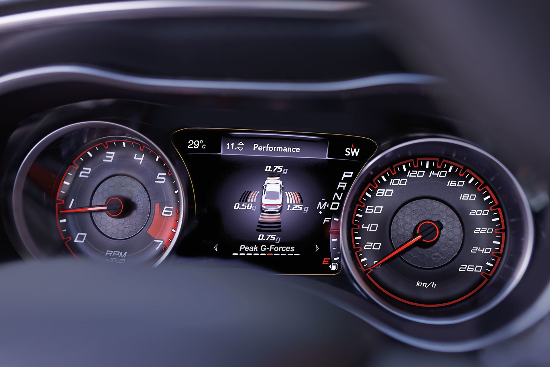 2019 Dodge Charger customizable information display