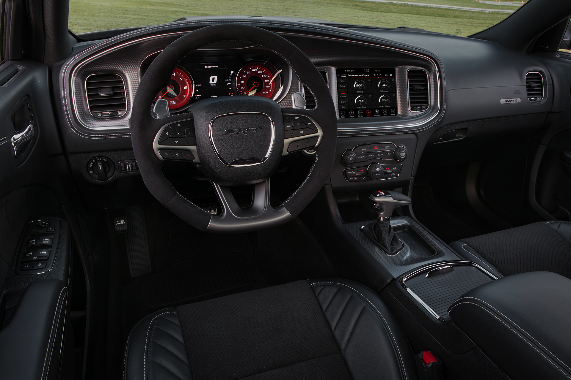 2019 Dodge Charger driver-focused cabin