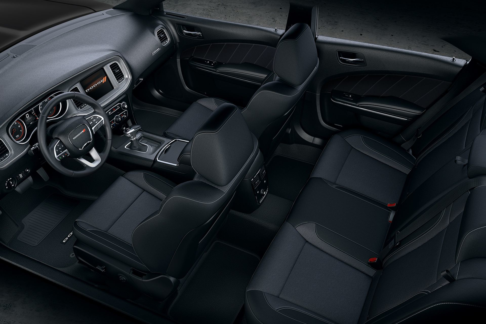 2019 Dodge Charger premium modern interiors