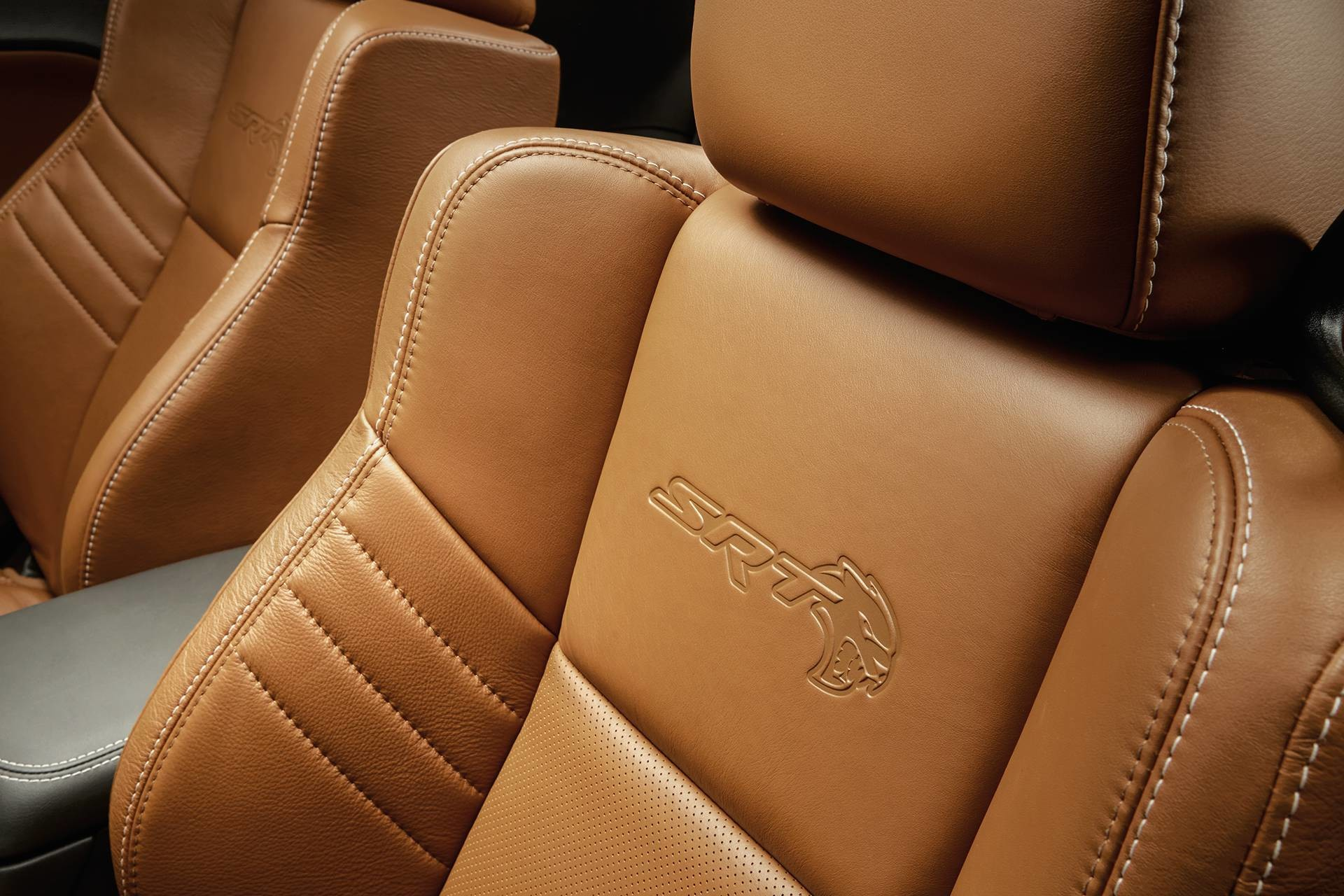 2019 Dodge Charger Hellcat with Laguna leather seats