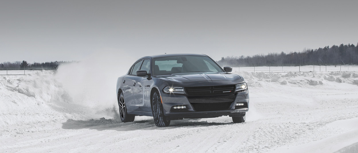 2019 Dodge Charger parked with silver exterior
