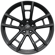 20-inch Low-Gloss Black forged aluminum