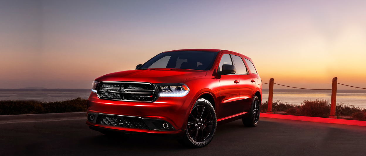 2018 Dodge Durango, exterior shown in white