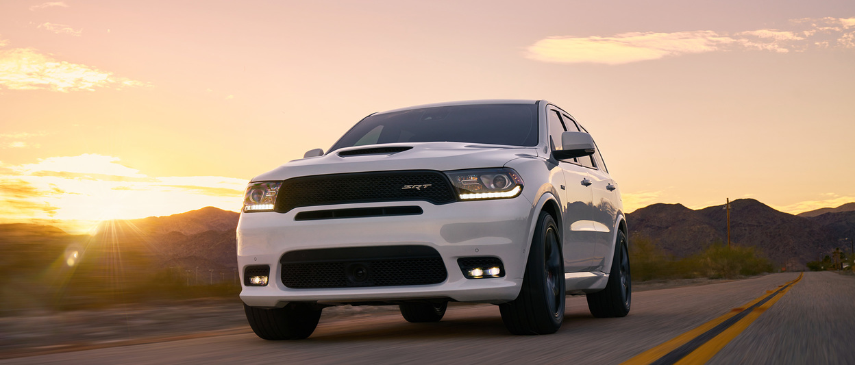 2018 Dodge Durango, front shown