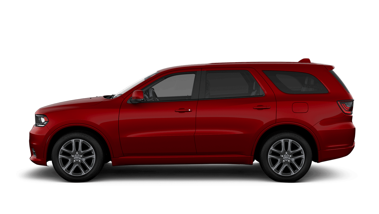 2019 Dodge Durango sideview with 20-inch matte vapour aluminum wheels