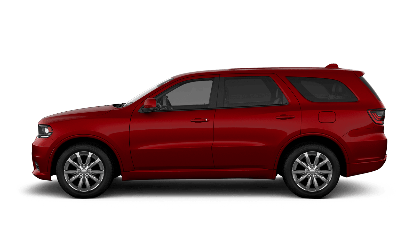 2019 Dodge Durango sideview with 18-inch aluminum wheels