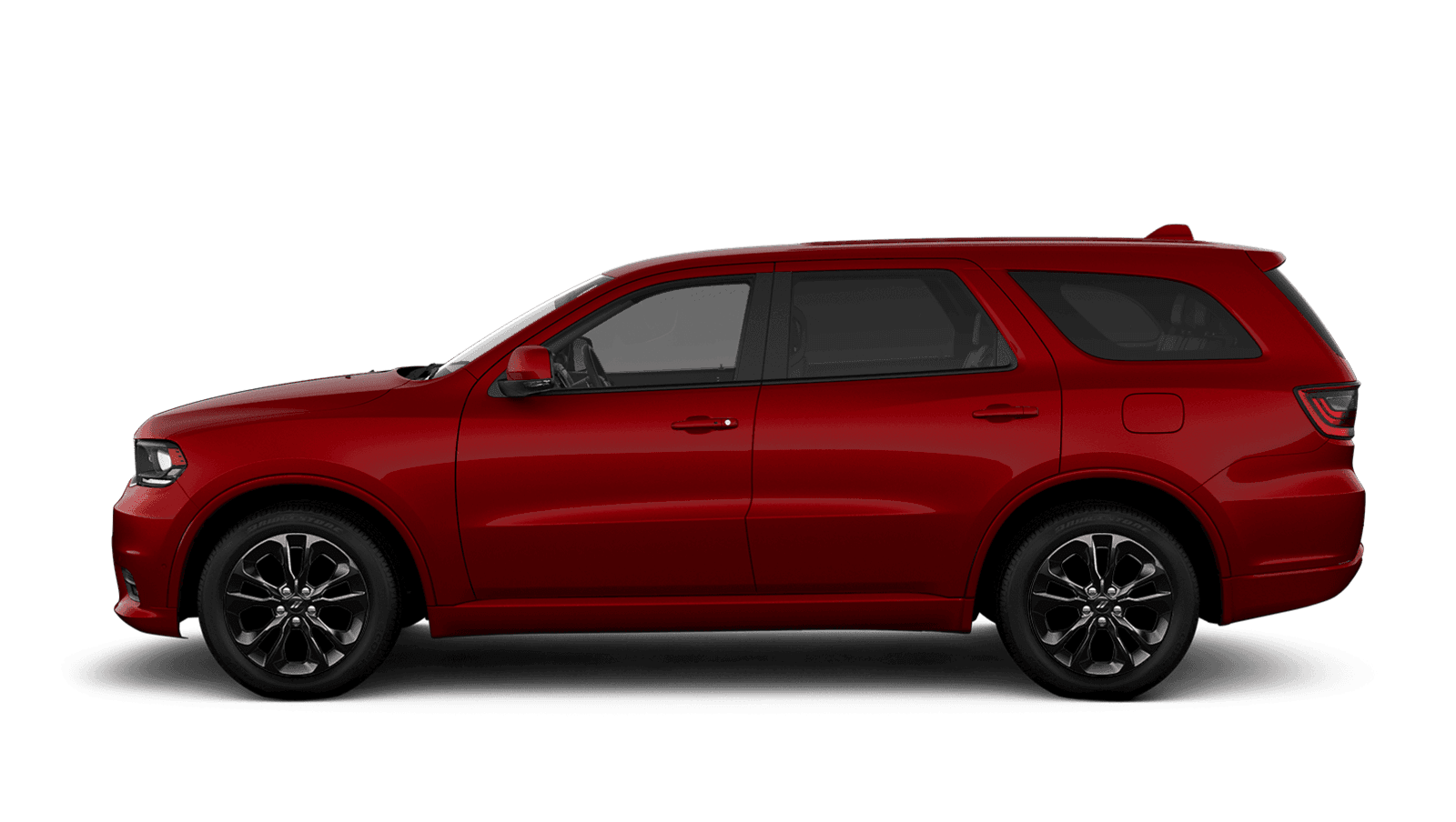 2019 Dodge Durango sideview with 20-inch Black Noise aluminum wheels