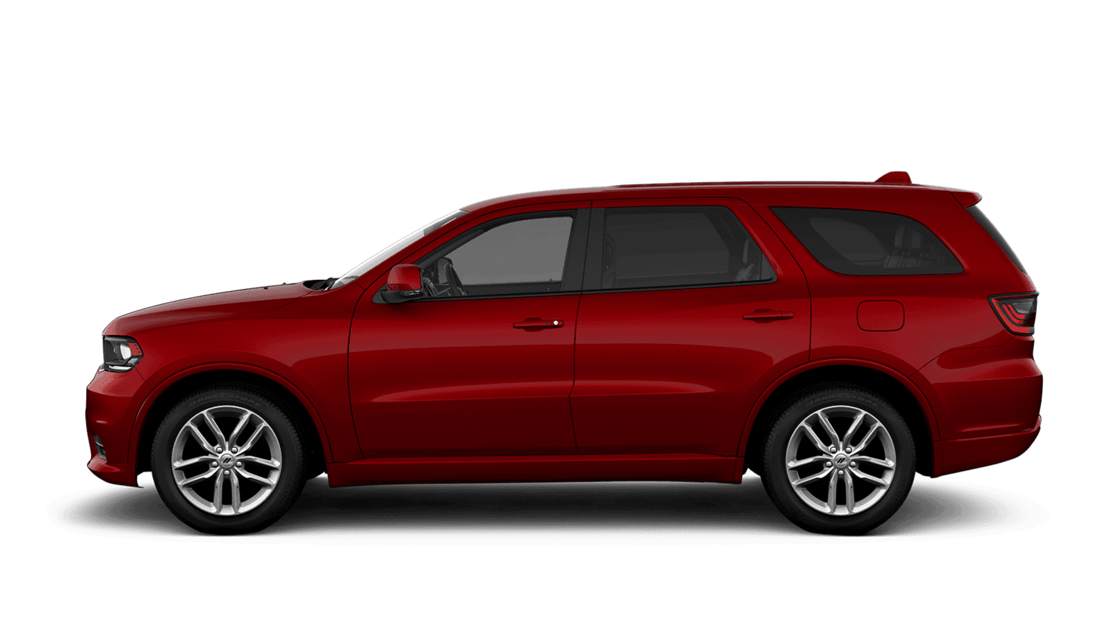 2021 Dodge Durango sideview with 20-inch Fine Silver aluminum