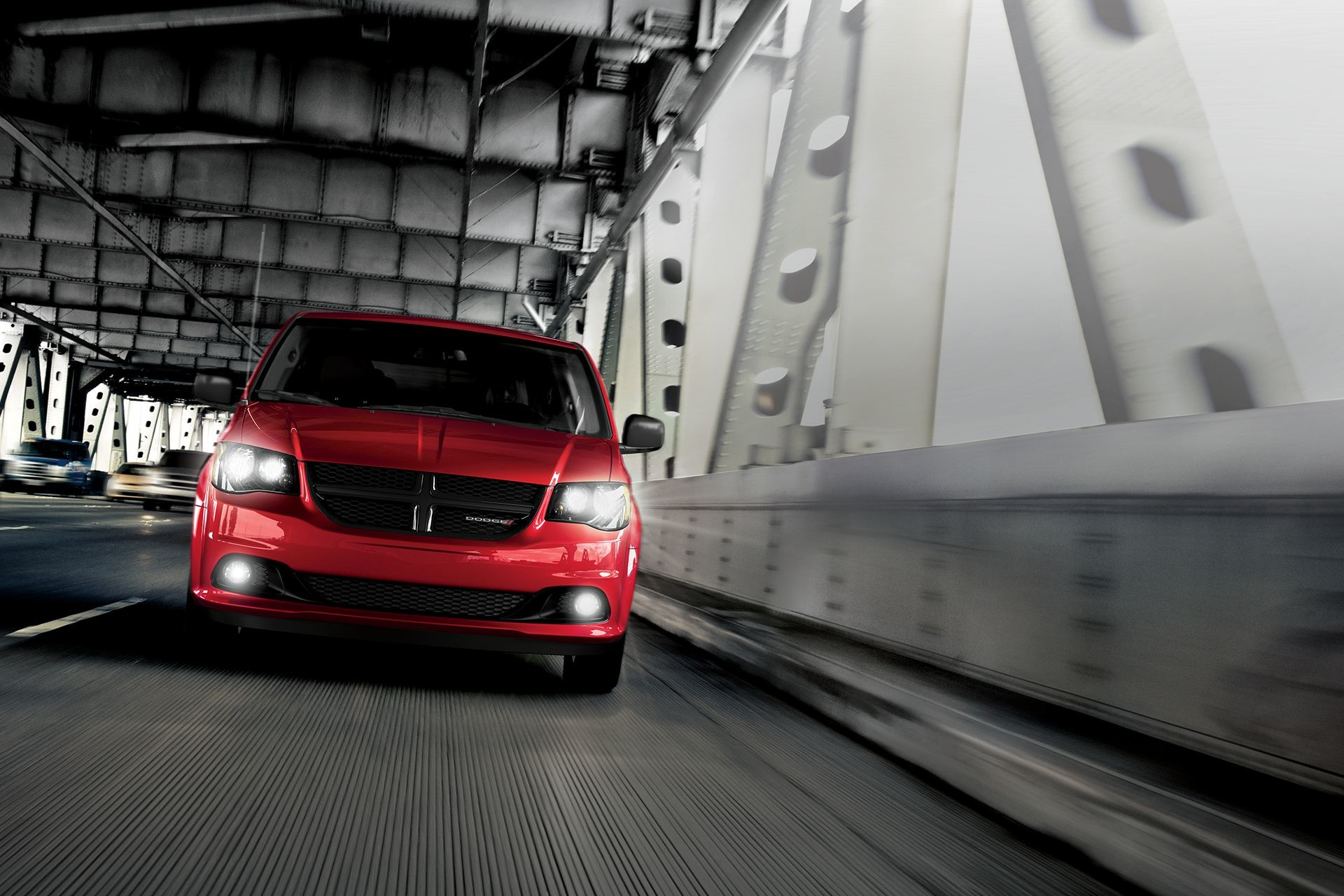 2018 Dodge Grand Caravan Exterior shown in Red