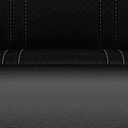 Torino leatherette with perforated suede inserts –