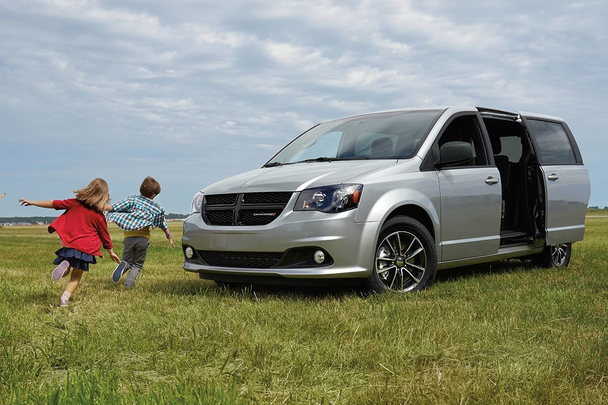 2019 Dodge Grand Caravan exterior view with power sliding doors