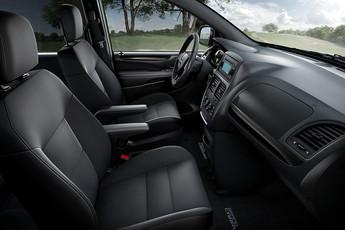 2019 Dodge Grand Caravan Interior View Black Seats