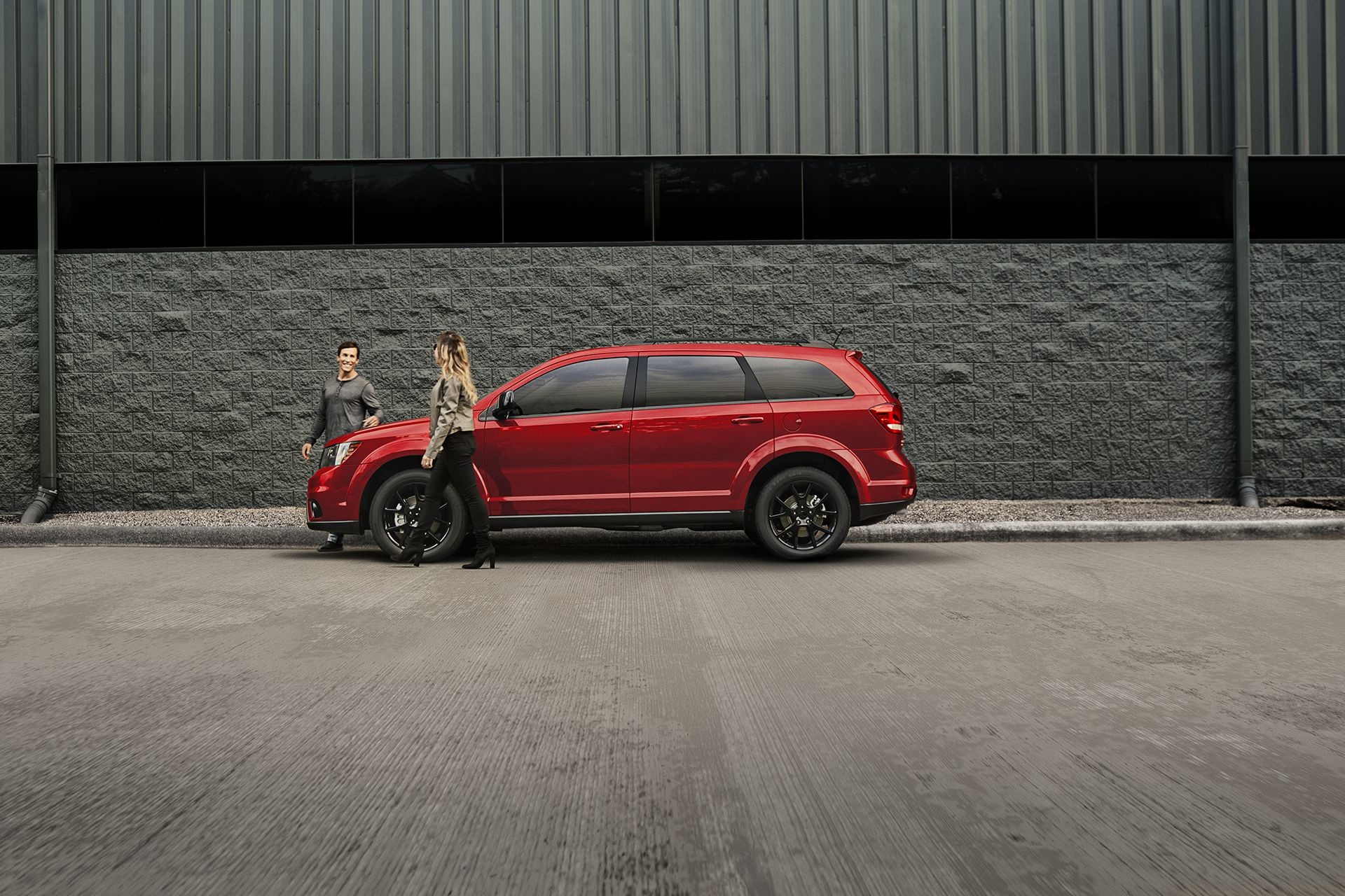 2018 Dodge Journey sxt blacktop appearance package