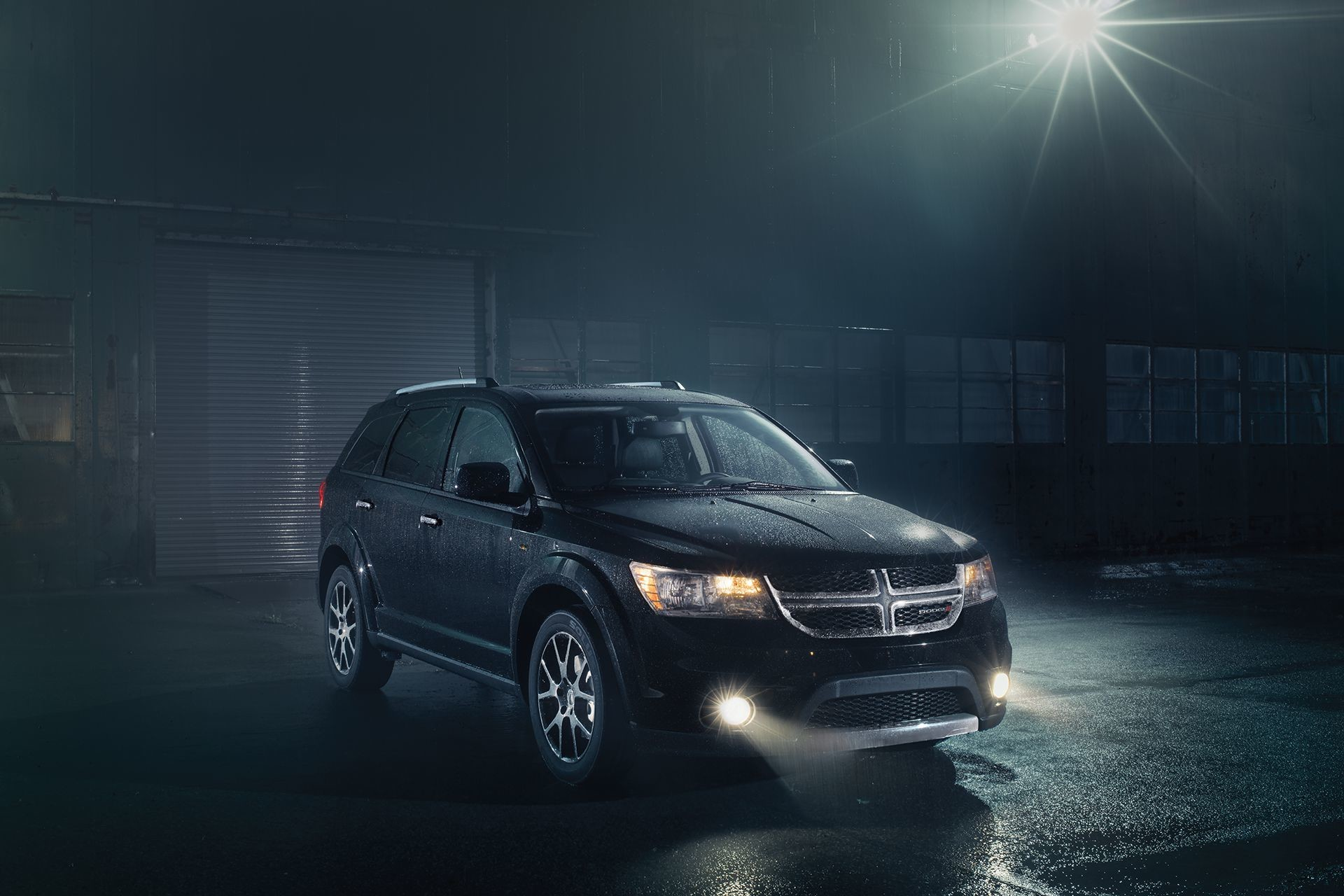 2018 Dodge Journey Quad-halogen Headlights