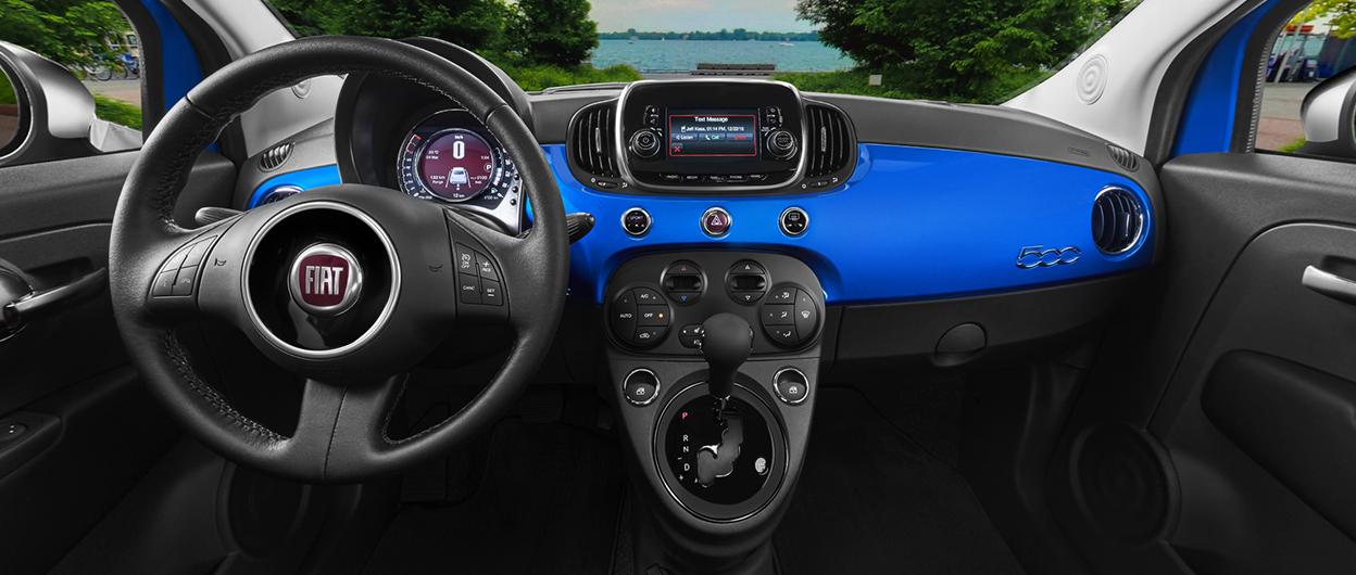 Favoriete 2018 FIAT 500 - 4 Door Sub-Compact Car | FIAT Canada #BU24