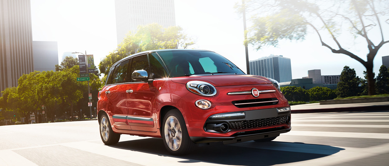 2018 Fiat 500L new look front and rear fascia for new adventures