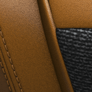 Leather-faced - Tan with Tan double stitching