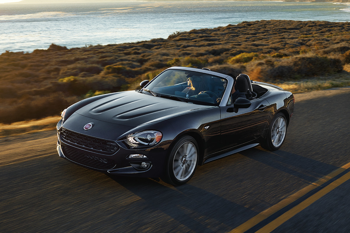 2018 Fiat 124 Spider Roadster 6-speed manual transmission or 6-speed automatic