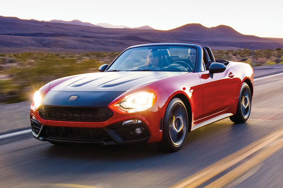 2018 Fiat 124 Spider Roadster advanced safety and security